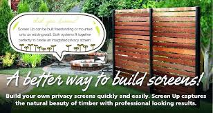free standing outdoor fence free standing garden screens better way to build free standing garden fence