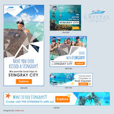 Tourism Banner Design Playful Modern Tourism Banner Ad Design For A Company By