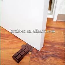 door stopper wedge. Novelty Melting Chocolate Silicone Rubber Door Stop Stopper Wedge Brown A