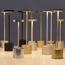 contemporary indoor lighting. Table Lamp / Contemporary Indoor/outdoor Metal - LUXCIOLE DORE By Hervé Isle Indoor Lighting O