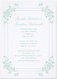 At Home Invitation 21 Beautiful At Home Wedding Reception Invitations Destination