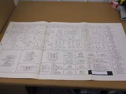 1976 ford f500 f600 f750 truck wiring diagram sheet schematics Ford E-150 Wiring-Diagram original 1973 ford courier truck wiring diagram sheet schematics service manual