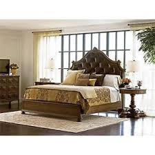 Image Is Loading Stanley Furniture Villa Fiora 5 Piece Leather King
