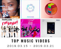 Top Charts Music Videos Youtube Top Music Videos On Youtube Korea 12th Week 2019