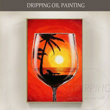 Wine Glass Decorating Designs Online Get Cheap Wine Glass Painted Designs Aliexpress 100