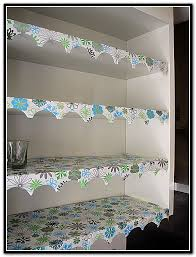 wire shelf liner ideas
