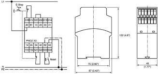 pnoz x3 110vac 24vdc 3n o 1n c 1so pilz pnoz x safety relay pilz safety relay troubleshooting at Pilz Safety Relay Wiring Diagram