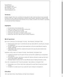 Dispatch Clerk Sample Resume