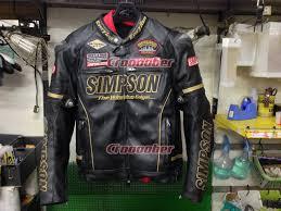 simpson premium pu leather jacket sj 7139 prm