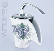 bathroom vessel sinks and faucets. ceramic waterfall bathroom vessel faucet 28504 sinks and faucets