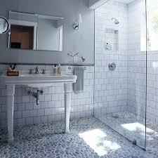 stone shower floor pebble shower floor stone shower floor cleaning