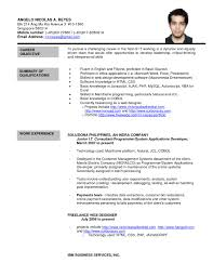 Formal Resume Format Free For Download Formal Letter Sample Sample