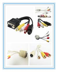 vgs change to s leadwire,vga change to av line,vga change to  at Vga And Rca To Vga And Rca Wiring Harness