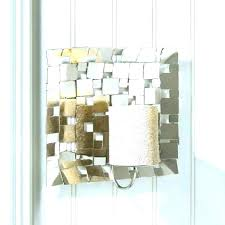 mirrored wall sconce mirror candle holders holder sconces decor