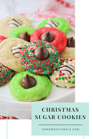 Immediately top each cookie with 1 milk chocolate candy, pressing down firmly so cookie cracks around edge. Christmas Blossom Cookies 5 Minute Prep Somewhat Simple
