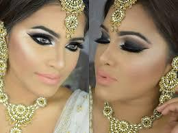bridal makeup inspired dramatic black smokey eyes with subtle lips makeupbyazmeree you