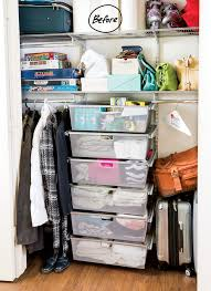 everything from purses rollerblades luggage and extra toilet paper was d in the closet she yearned for her closet systems to work extra hard