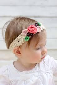 Crochet Flower Pattern For Headband Beauteous Free Crochet Flower Headband Pattern Baby Toddler Adult
