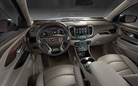2018 gmc terrain denali interior. wonderful interior image of the dashboard and front seats cabin in 2018 gmc  terrain for gmc terrain denali interior gmccom
