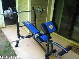 Bench Used Weight Bench Set For Sale Golds Gym Xr Weight Bench Used Weight Bench Sale