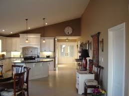 open concept kitchen living room paint colours. open floor concept/ paint maybe too dark concept kitchen living room colours c