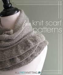 Free Scarf Knitting Patterns Cool 48 Free Knit Scarf Patterns AllFreeKnitting