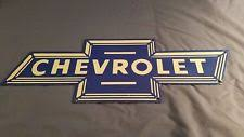 vintage chevrolet sign. vintage chevrolet porcelain enamel bowtie gas trucks auto service station sign vintage chevrolet sign