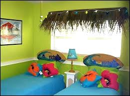 themed room surfing style bedroom decorating ideas for kids hawaiian decor teen turquoise bedding theme themed bedroom decor