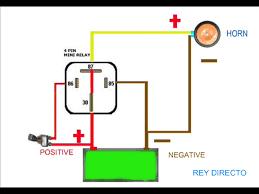 horn relay wiring diagram wiring diagram schematics baudetails horn relay simple wiring
