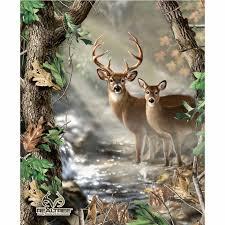 Realtree - Deer Quilt Panel - Sykel Enterprises - Sykel ... & Realtree - Deer Quilt Panel Adamdwight.com