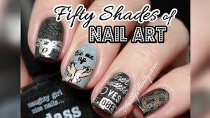 BADASS Fifty Shades Nail Art! | Sexy Stamping with Bundle Monster ...