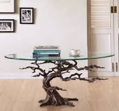 metal glass coffee table. Image Is Loading Coastal-Cypress-Tree-Metal-Glass-Coffee-Table-Sculpture- Metal Glass Coffee Table