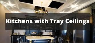 Image Wood Home Stratosphere 140 Kitchens With Tray Ceilings For 2019