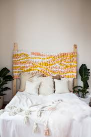 Deko Ideen Schlafzimmer Diy Idee Fuumlrs Gewebtes Kopfteil Bett