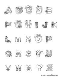 Christmas Letters Of Alphabet Coloring Pages Coloring Pages