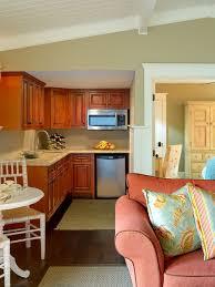Interesting Guest House Kitchen Small Beach Style Idea In Santa Barbara For Simple Design