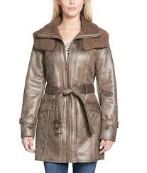 duster shearling leather jacket