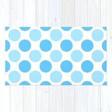 polka dot rug nursery