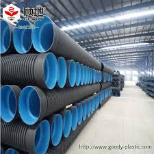 china hdpe flexible twin wall double wall corrugated perforated pipe china pe pipe hdpe pipes and fitting