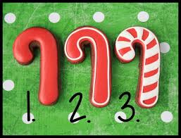 Decorative Candy Canes Decorated Candy Cane Cookies Cookies and Cards LilaLoa 49
