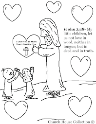 God Loves Me Coloring Page Plrappco