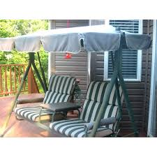 2 seater with arm rest swing replacement canopy