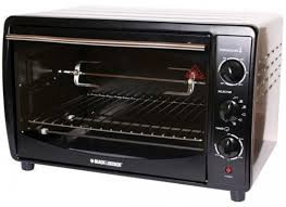 black decker large toaster oven 42 liter xcite alghanim electronics best ping experience in kuwait