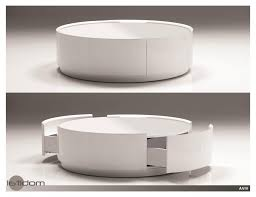 white coffee table modern unique modern round white coffee table oval glass and iron big round coffee