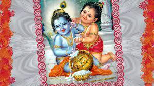 Lord Krishna And Balram Wallpaper : Hd ...