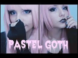 pastel goth makeup tutorial by aapinku you
