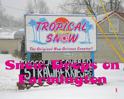 photo essay farmington post note dispatch 6 when a big snow came two weeks ago while much of a previous snow was still on the ground a good bit of our town closed down
