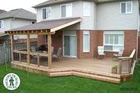 Deck With Roof