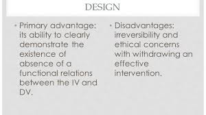 alternating treatment design reversal and alternating treatment designs sped 514 presentation