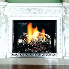 natural gas fireplace logs vented natural gas fireplace logs non savannah oak 18 in vent free